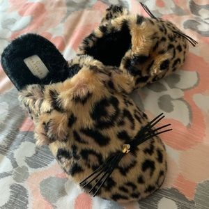 Kate Spade Belindy Cat Slippers sz 8